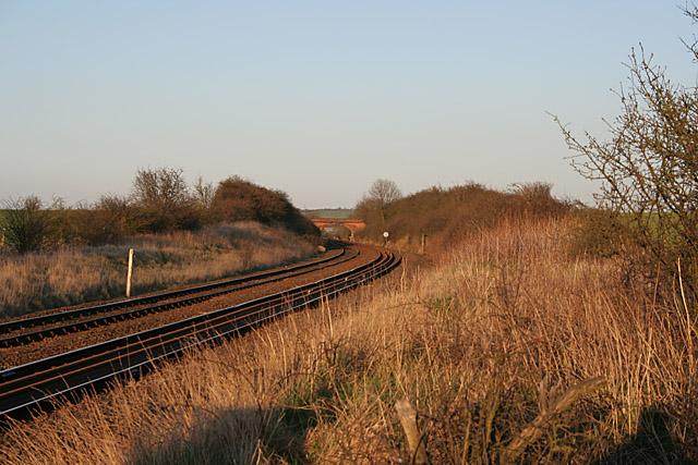Railway Line near Bottesford