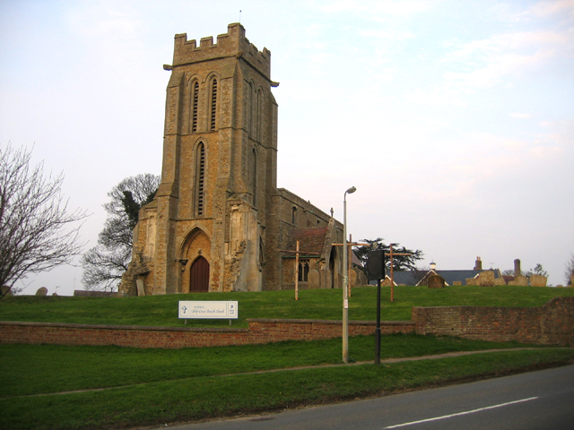 Holy Cross parish church, Bury, Cambs