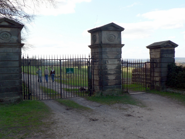 Lofthouse Lodge Gates, Harewood Estate