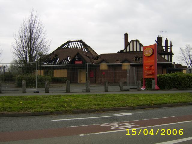 Fire Damaged Pub