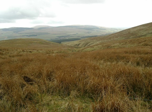 Upper reaches of the Grain Burn