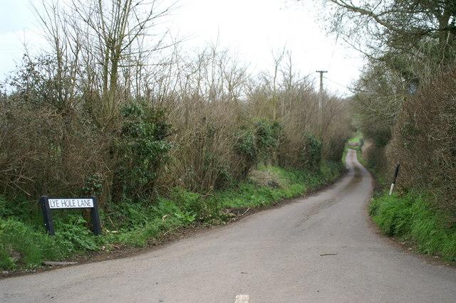 Lye Hole Lane