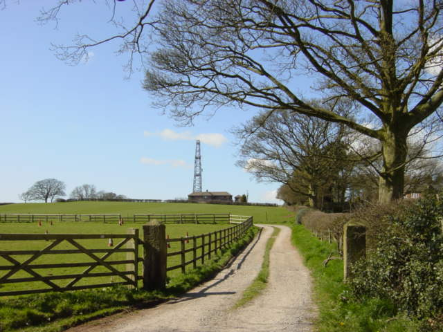 Radio Mast on Birch Hill near Kelsall