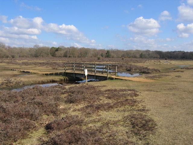 Bridge on Ober Heath, Brockenhurst