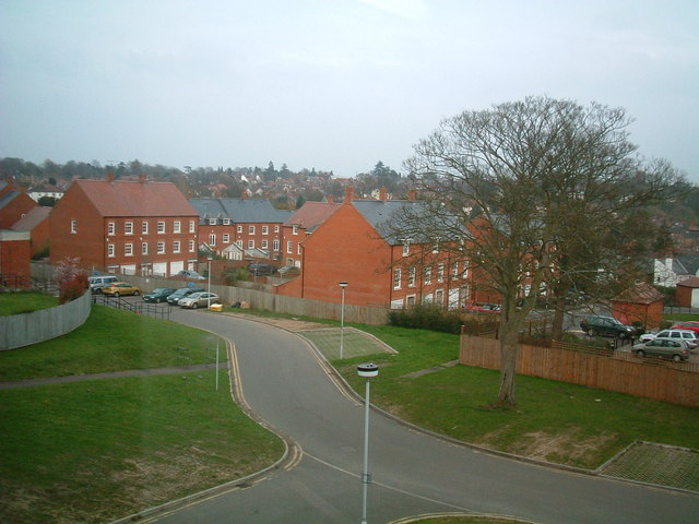 View from St Albans City Hospital