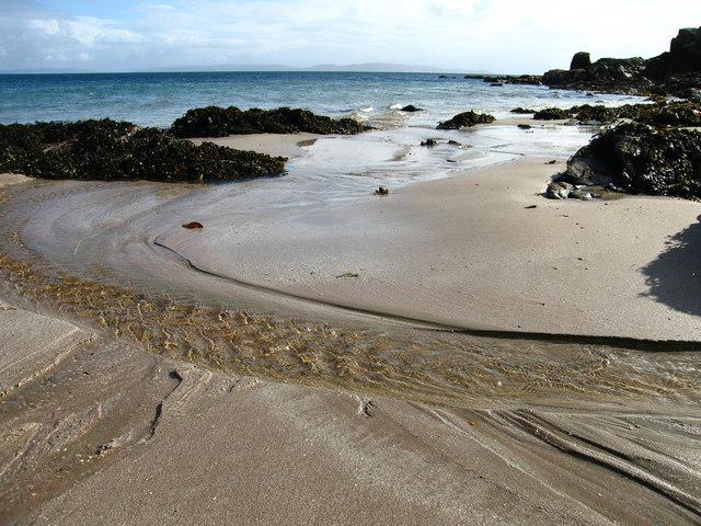 Beach at Port-na-Caranean, Rum