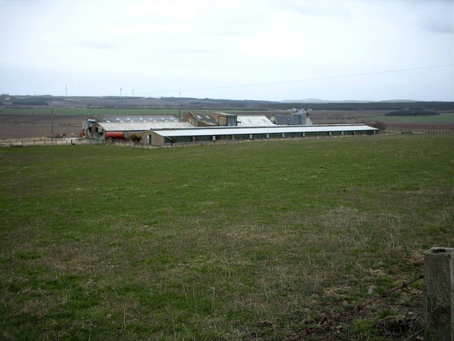 Broomhills Farm near Portsoy