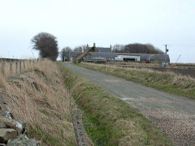 Wester Whyntie Farm near Portsoy
