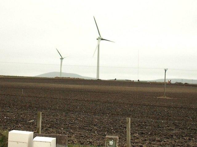 Wind Turbines at Boyndie Airfield
