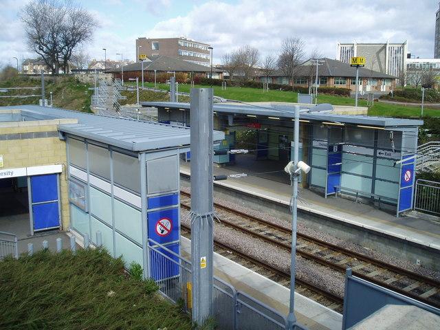 The University Metro Station, Sunderland, 17th April 2006