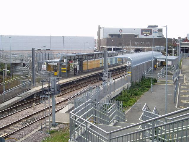 The Stadium of Light Metro Station, Monkwearmouth, Sunderland, 17th April 2006