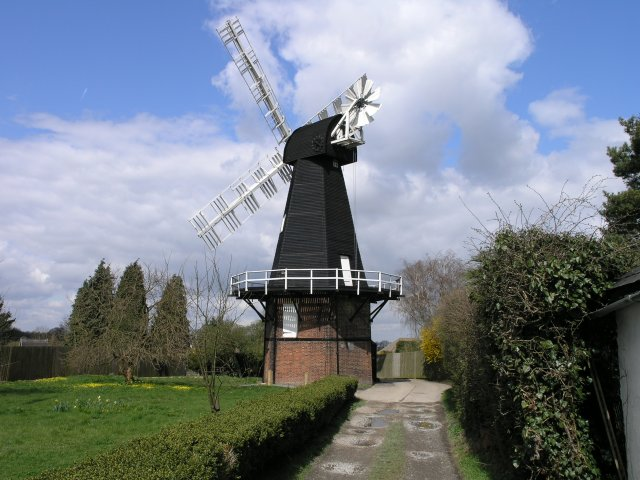 Windmill in Meopham Green