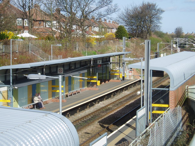 Seaburn Metro Station, Fulwell, Sunderland, 17th April 2006