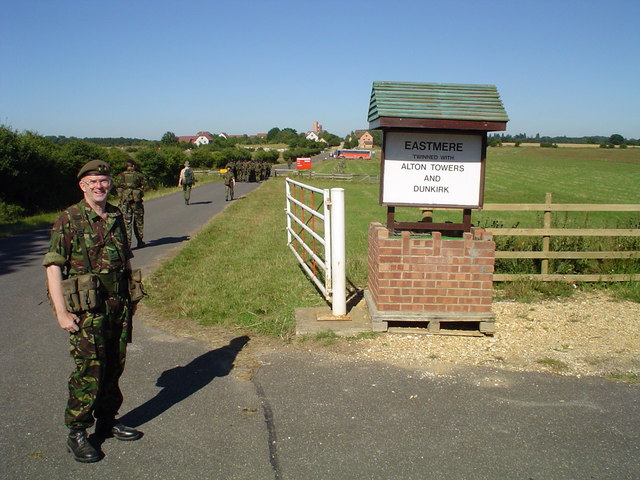 Entrance to the Eastmere Training Village