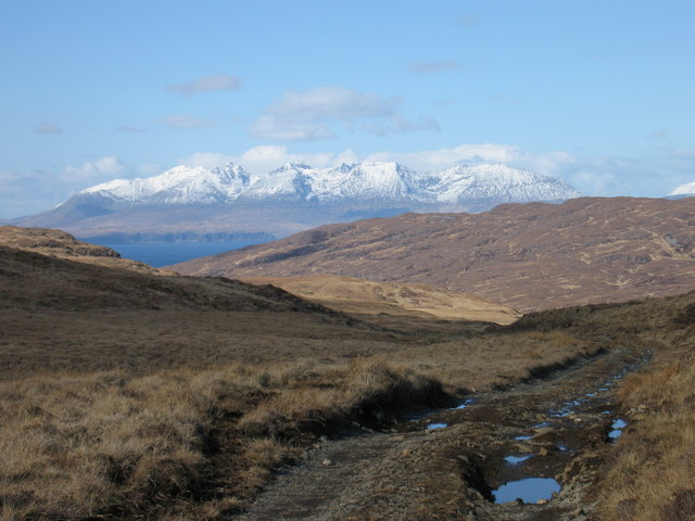 Track from Harris to Kinloch, Rum