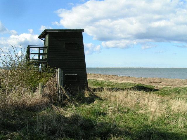 Bird hide, Lowmoor Point