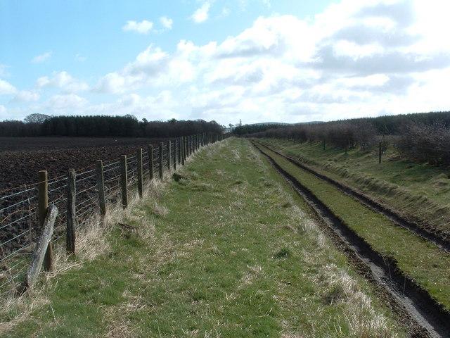Disused railway line