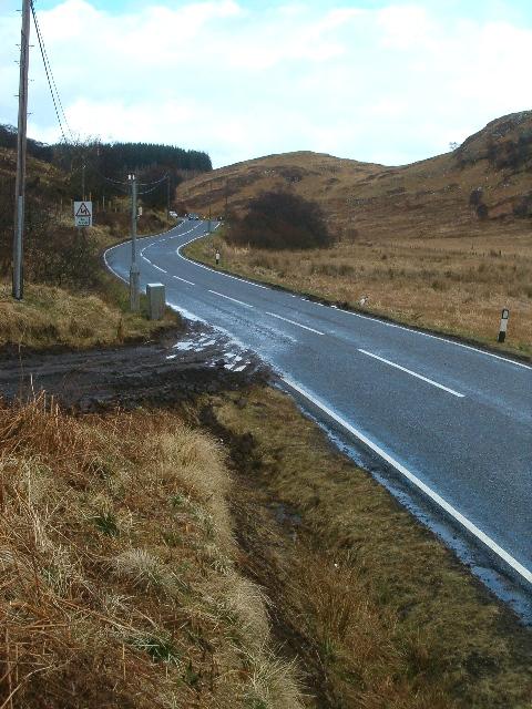 A816 near Blaran