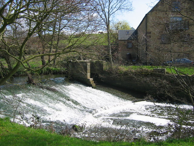 Weir on River Amber