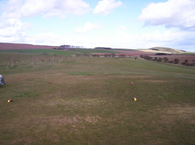 View From the First Tee at Auchenblae Golf Course