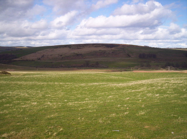 Droop Hill from near Auchtochter