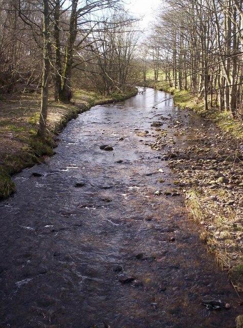 Bervie Water Looking West