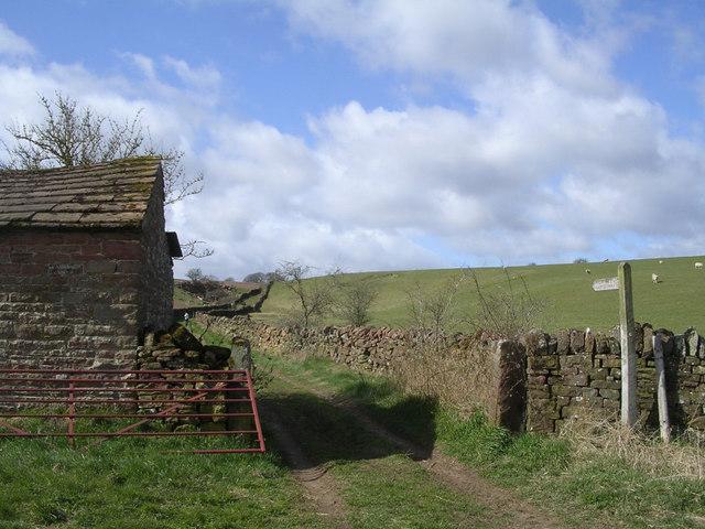 Public Bridleway to Salkeld Dykes