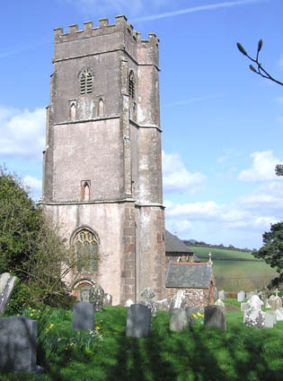 St. Peter's church, Huish Champflower