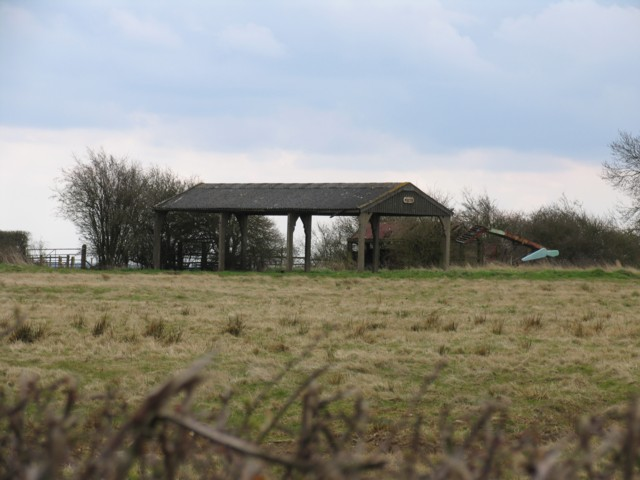 Barn near Knossington