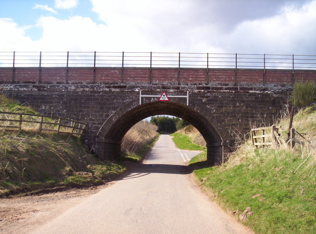 Railway Bridge Near Drumlithie