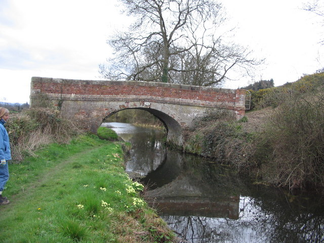 Canal bridge over Montgomery Canal