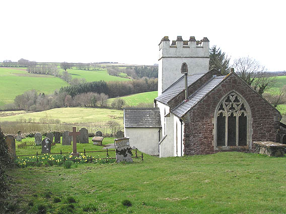Church of St. Mary Magdalene, Withiel Florey