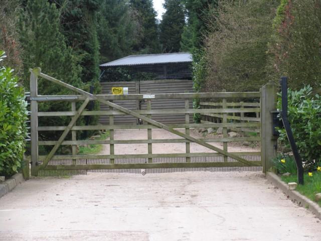 Spring Farm Entrance