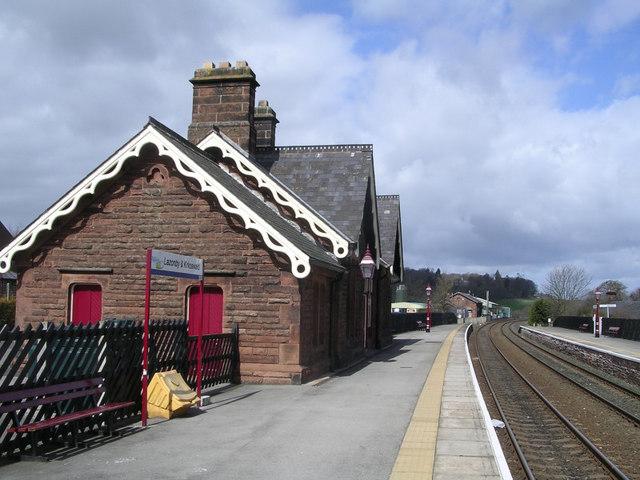 Lazonby Railway Station