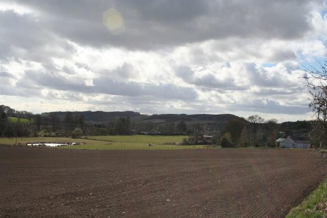 Farmland east of The Gauldry
