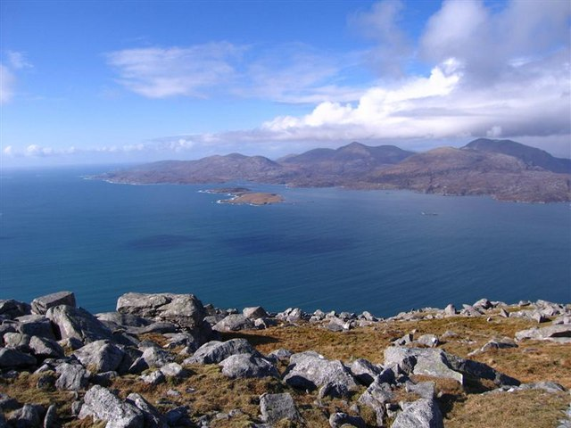 View North from Beinn Dhubh