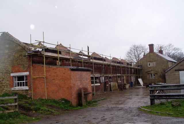 Restoration at Llidiart Farm, Talwrn