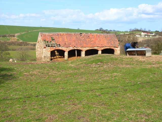 Old barn in Old Cassop, County Durham