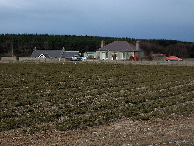 Cottages near Portgordon