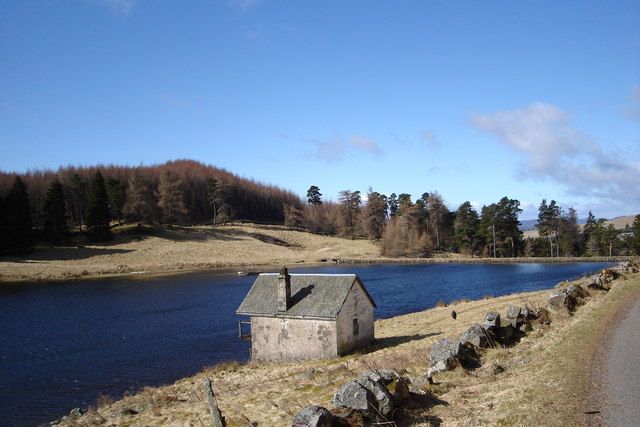 Boat House by Drumore Loch
