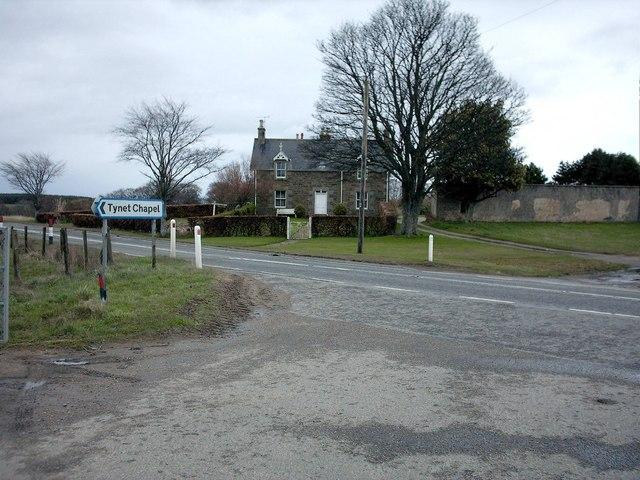 Tulloch House near Mill of Tynet