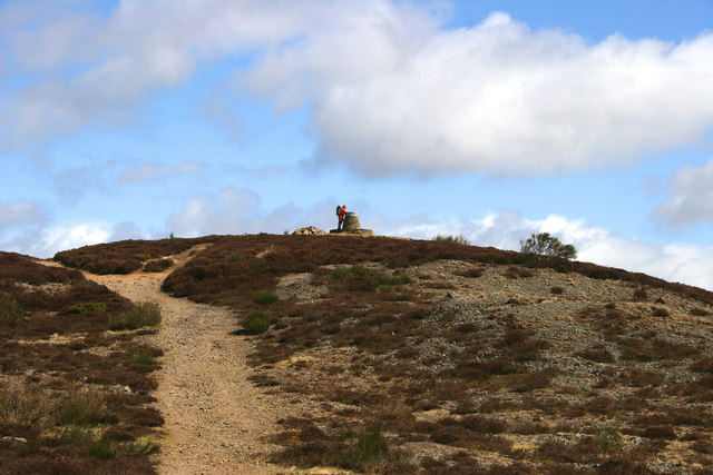 Balkello Hill in the Sidlaws