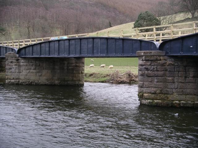 Footbridge over the Tweed