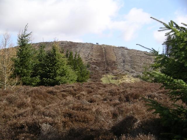 Summit track, Pirn Craig