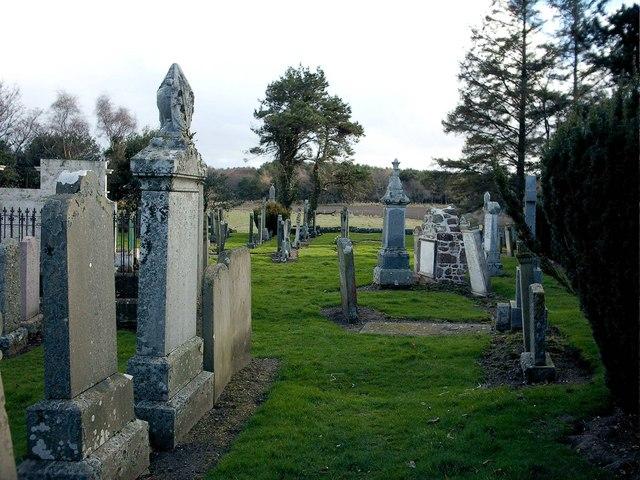 Essil Cemetery near Garmouth