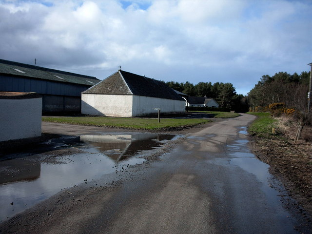 Newton Farm near Garmouth