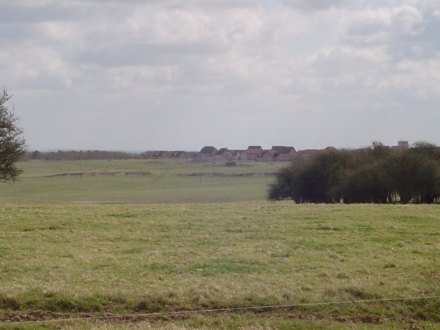 Mock Village, Salisbury Plain