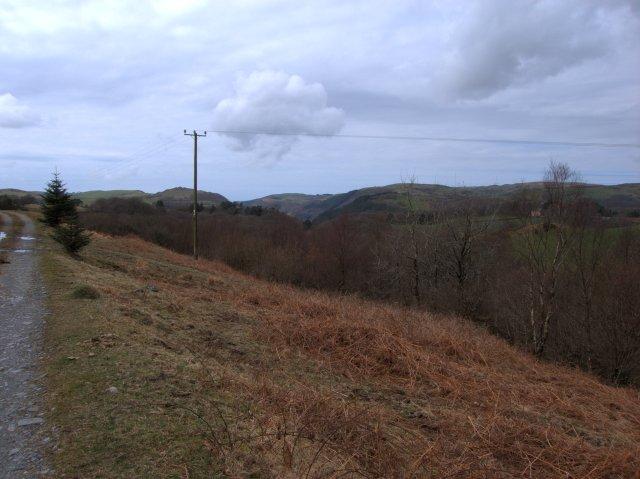 Lower Mynach Valley
