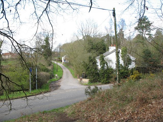 Lane to Nares Gladley Farm