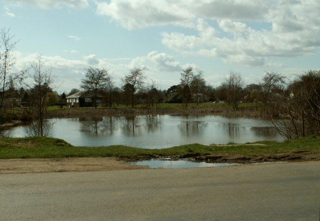 Village Pond at Matching Green, Essex